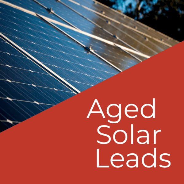 Buy Aged solar leads